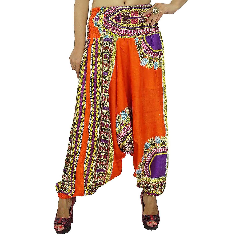 Frauen tragen Pluderhosen elastische Taillenhosen Frauen tragen Yogahosen Indien