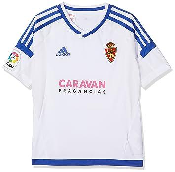 Adidas Moro Camiseta Real Zaragoza FC, Niños, Blanco (Blanco), 116: Amazon.es: Deportes y aire libre