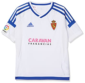 adidas Moro Camiseta Real Zaragoza Fc, Niños, Blanco (Blanco), 164