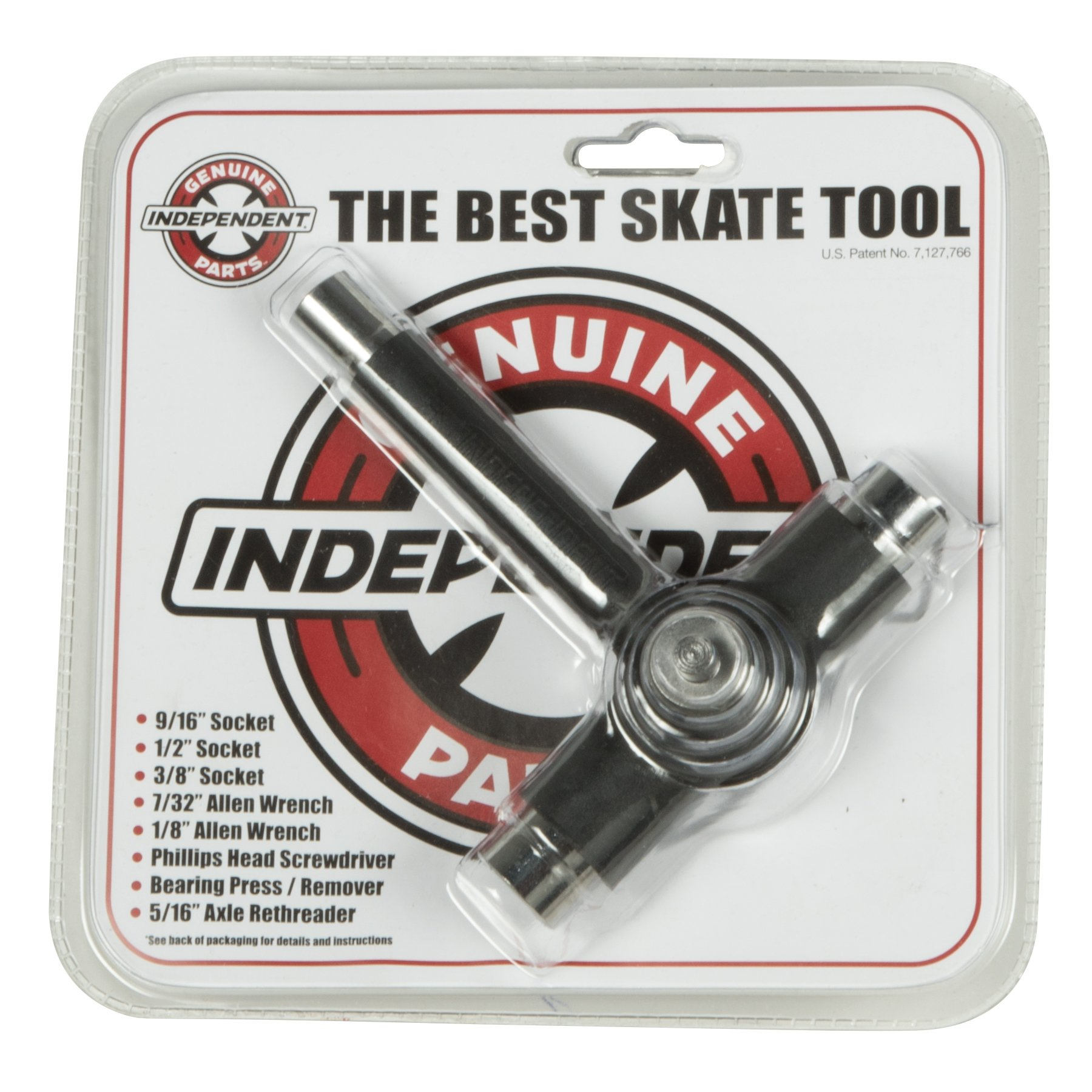 Independent Skate Skateboard Tool One Size Black by Independent