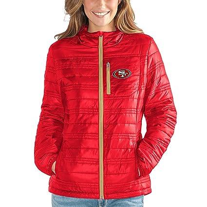 San Francisco 49ers NFL de la mujer G-III  quot Formación Packable chamarra  con f943d56f52b88