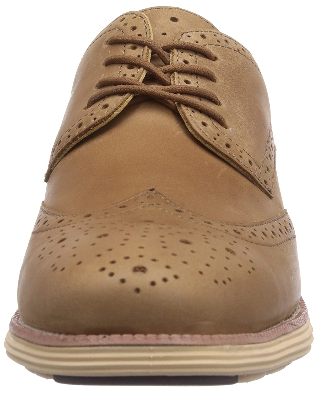 Mens Oxford Lace-Up 8 M US, Brown//Beige Chung Shi Sensomo I