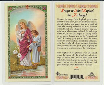 Novena to st raphael for love