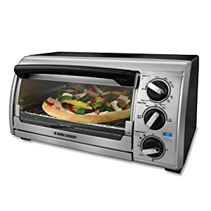 Black & Decker TRO480BS 4-Slice Toaster Oven
