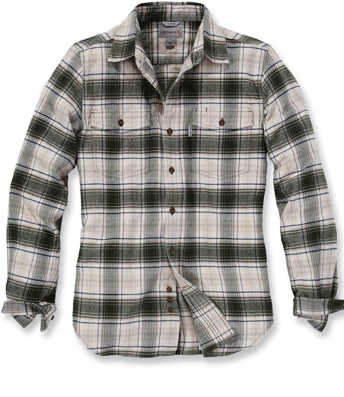 Carhartt Shirt Longsleeve Fit Flannel Trumbull 101841