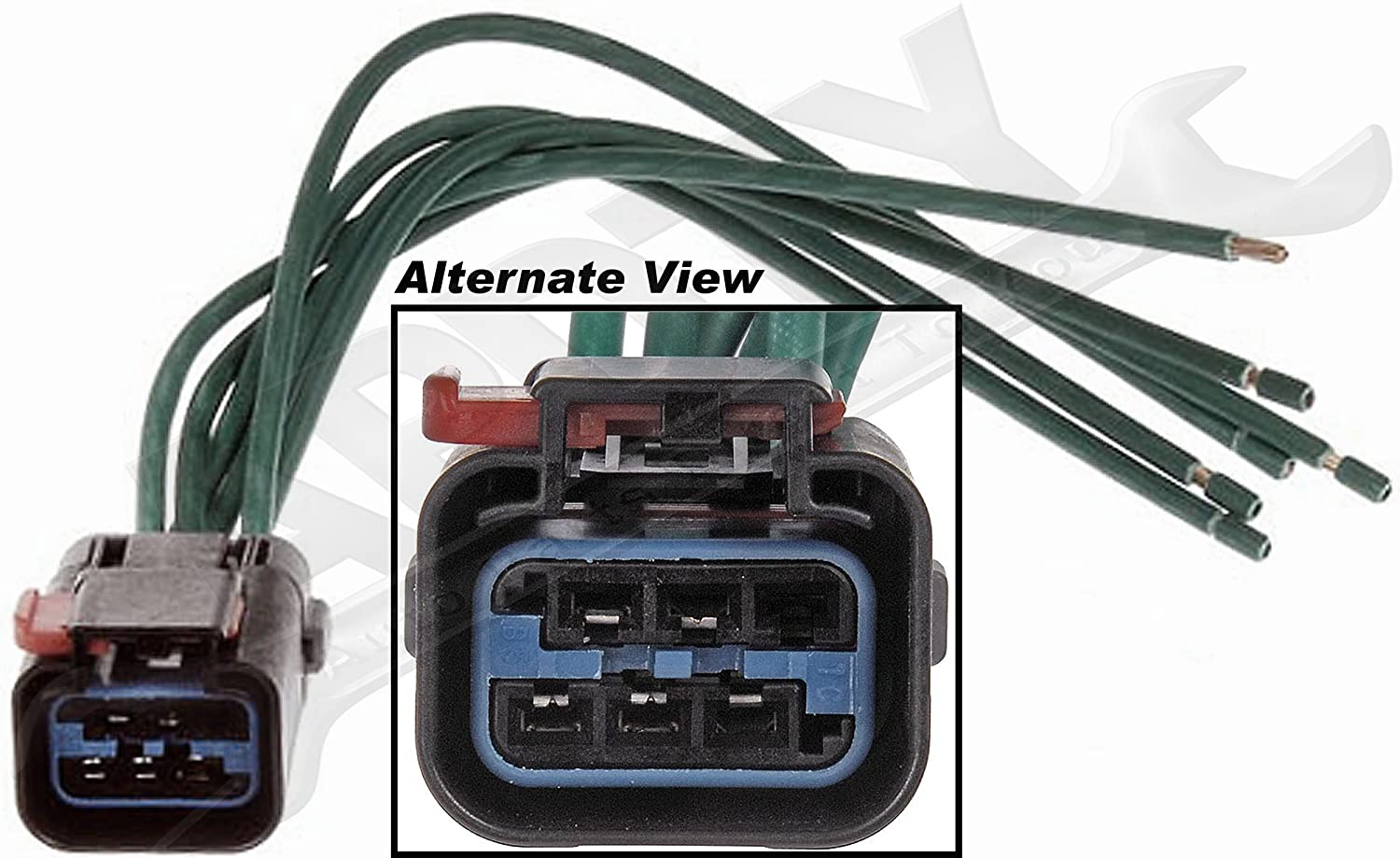 Amazon.com: APDTY 756614 Wiring Harness Pigtail Connector Kit ...