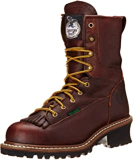 fdf1dac7e45 Amazon.com   AdTec Men's 9-Inch Logger Boot   Motorcycle & Combat