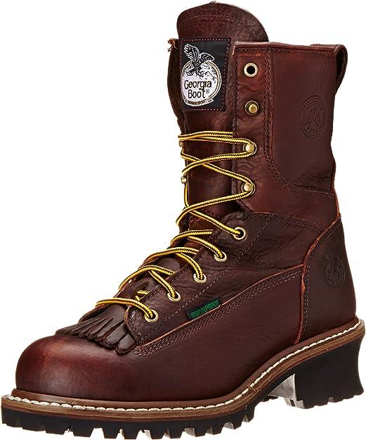 georgia boot men's loggers g7313 work boots