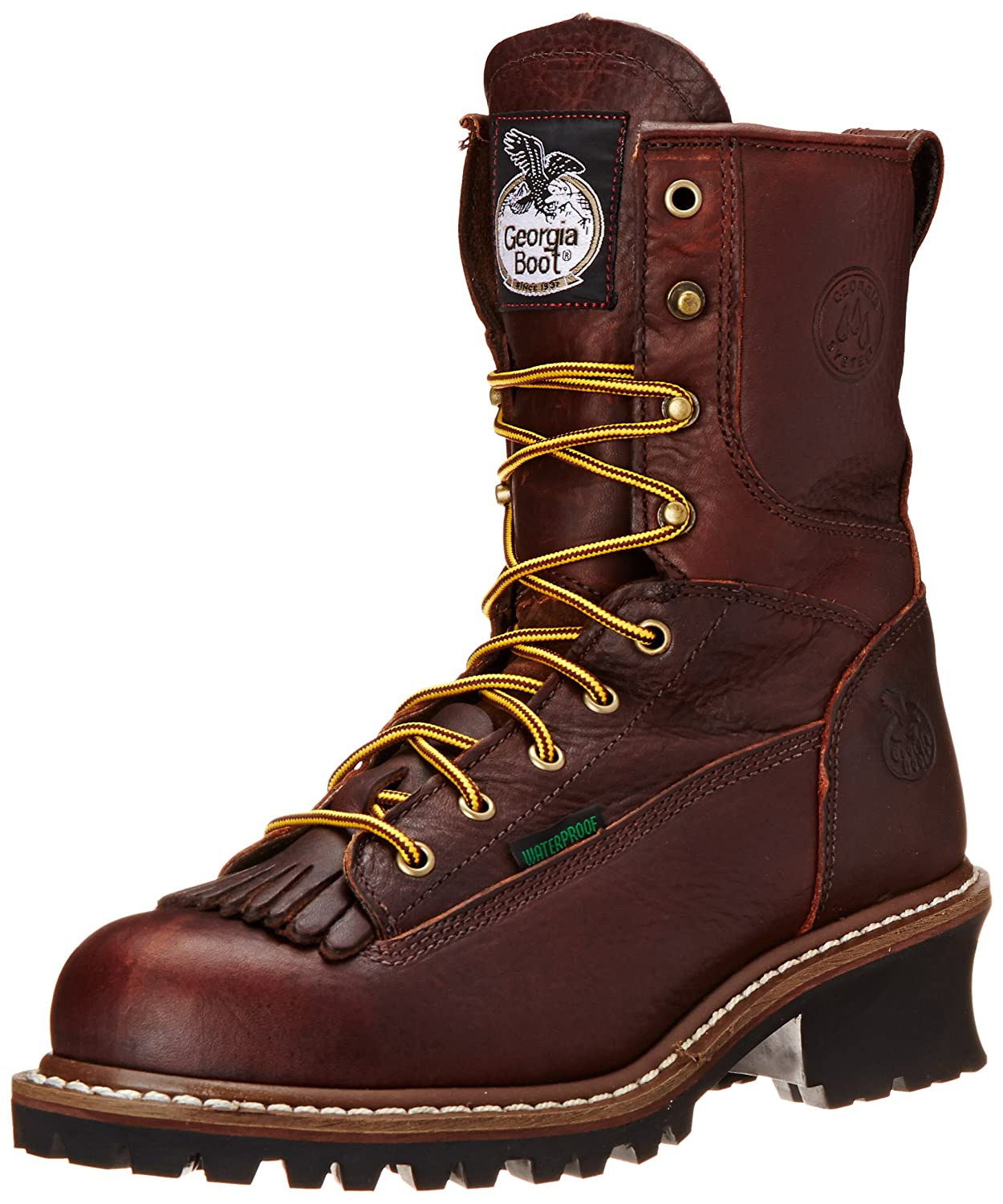 9cfcac9f0bb Georgia Boot Men's Loggers G7313 Work Boot