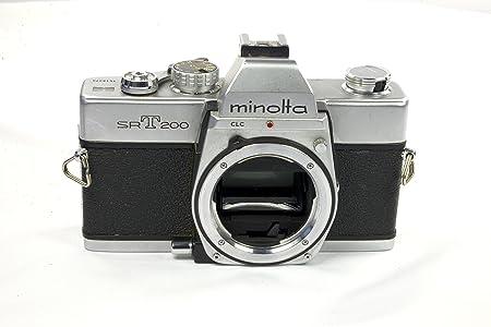 Minolta SRT-200 - Cámara de fotos SLR (enfoque manual, solo el ...