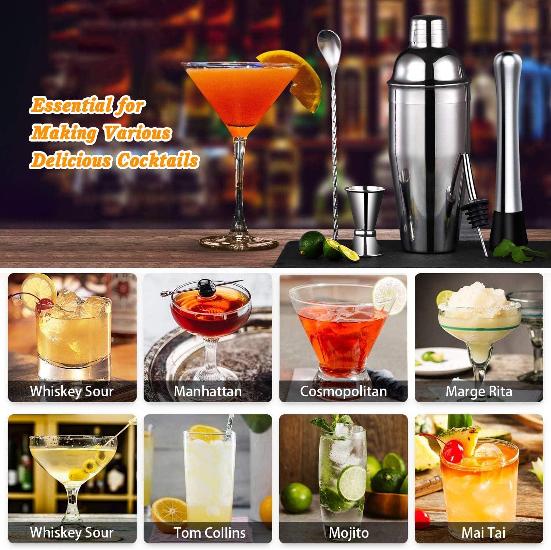 Qhui Coctelera, Juego de Cócteles, Accesorios para Bar ...