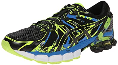 new product 673da ecbbc ASICS Men s Gel Sendai 2 Running Shoe, Black Onyx Flash Yellow, 10