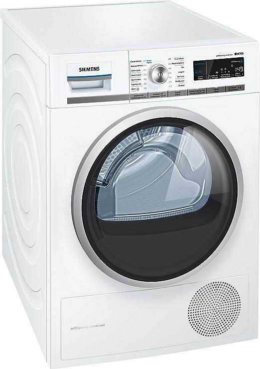 Siemens WT45W530FG Independiente Carga superior 8kg A++ Blanco ...