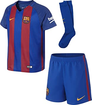 5e985f41a Image Unavailable. Image not available for. Color  Nike Youth FC Barcelona  Kit ...