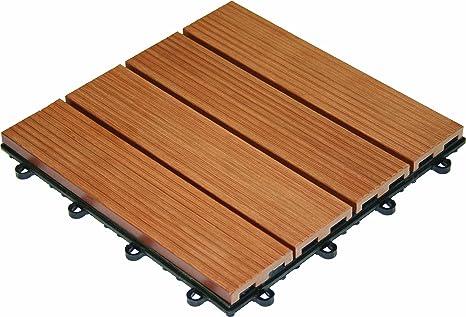 Click piastrelle wpc in legno per pavimento b piastrelle wpc in