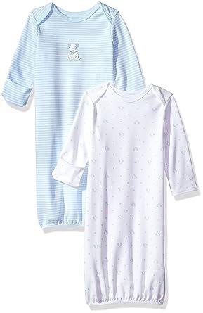 4e8c365bd Amazon.com  Little Me Baby Newborn 2 Pack Gown
