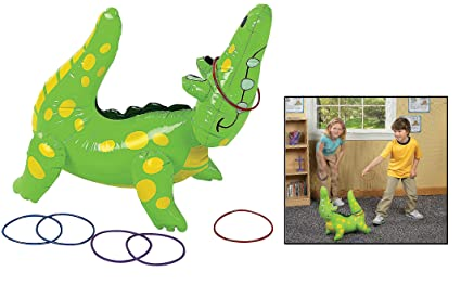 Charmant Fun Express Inflatable Alligator Ring Toss Game, 22u0026quot;, ...