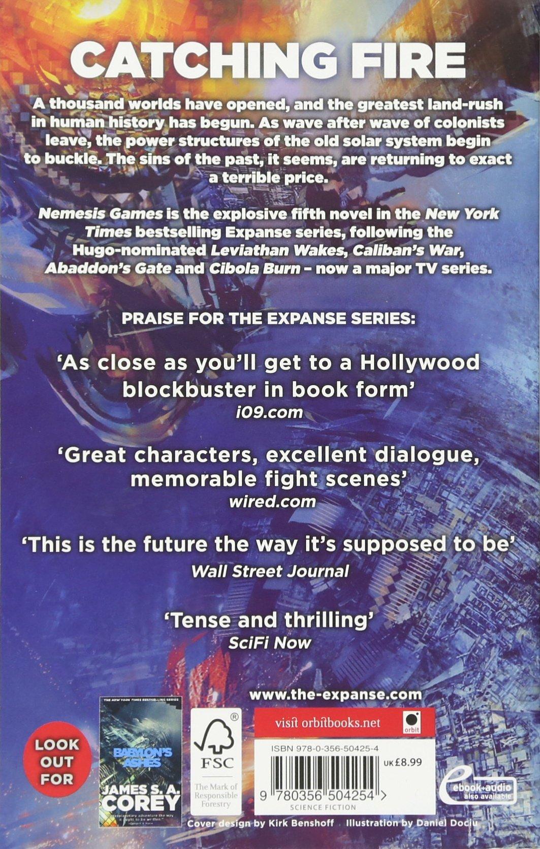 Nemesis Games: Book 5 Of The Expanse: Amazon: James S A Corey:  Fremdsprachige B�cher