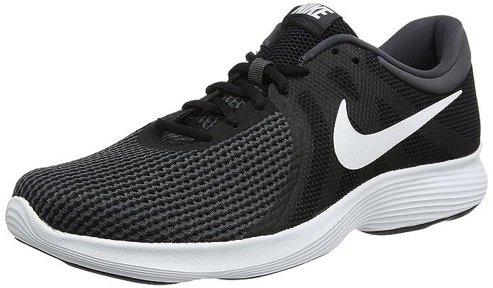 Nike Revolution 4 Herren schwarz mit weißem Streifen
