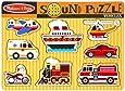 Melissa & Doug Vehicles Sound Puzzle (8 Pieces)
