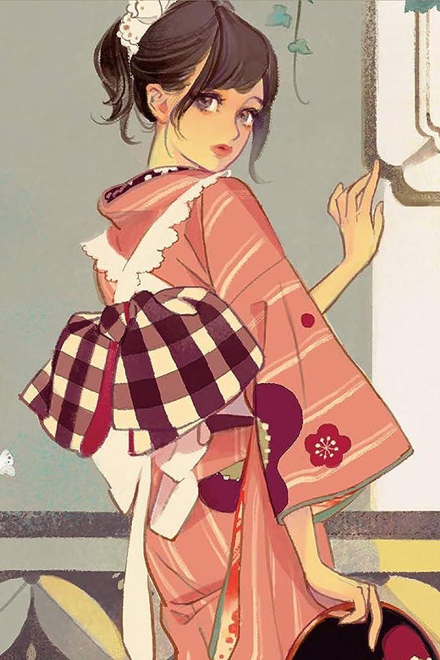 マツオヒロミ JAPONISME マツオヒロミ絵暦 二〇一九 iPhone(640×960)壁紙画像