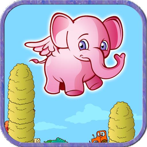 Pink Elephants Babies (Wrapped Elephant)