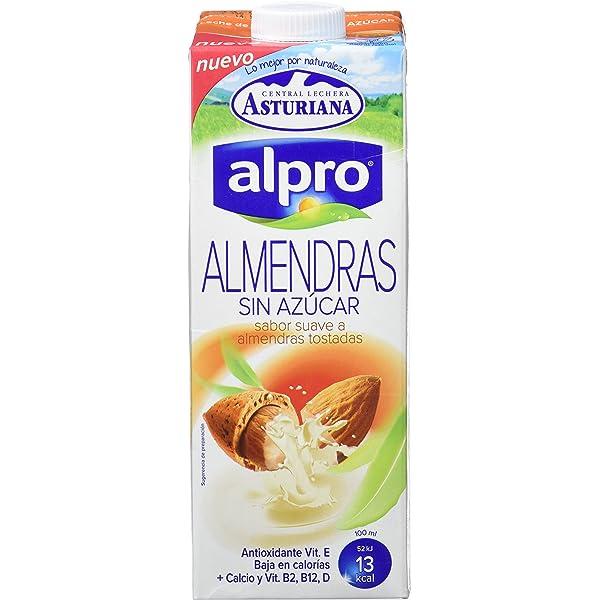 Almendrola - Bebida Vegetal de Almendras Sin Azúcar - Caja ...