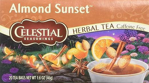 Almendra Sunset 20 bolsas de té: Amazon.com: Grocery ...