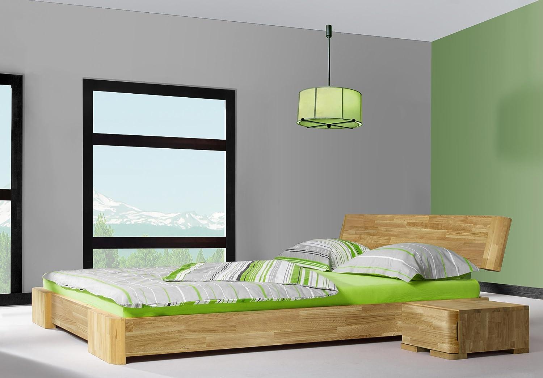 Stilbetten Bett Holzbetten Bari Eiche 80x220 cm: Amazon.de: Küche ...