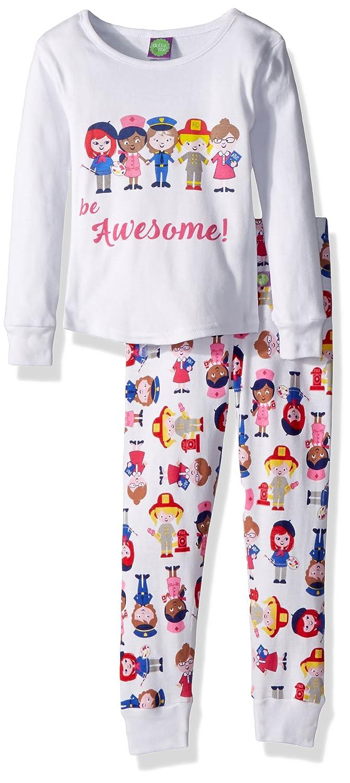 Amazon.com  Dollie   Me Girls  Snugfit Sleepwear Set  Clothing 213690bdf