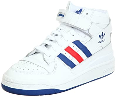 adidas forum mid bianco