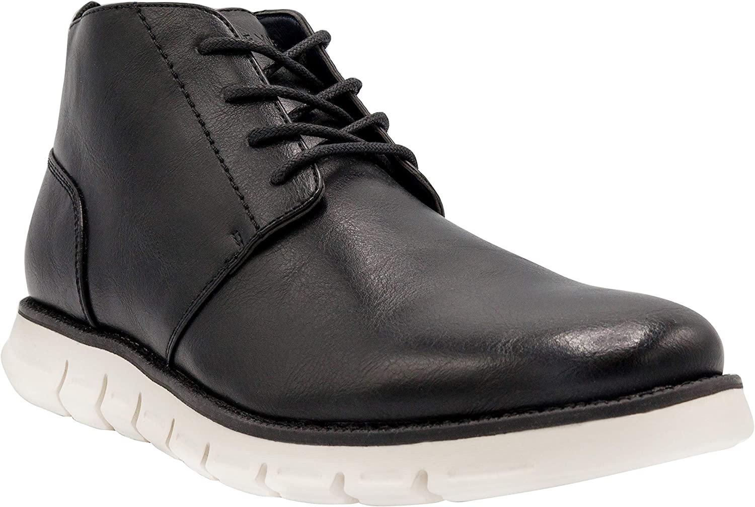 NINE WEST Mens Chukka Boots I Casual Dress Boots for Men I Lightweight Lace Up Mens Ankle Boots I Fashion Top Boots with Deep Grooves in Outsole That Mimics The Natural Motion of The Foot I Hardey