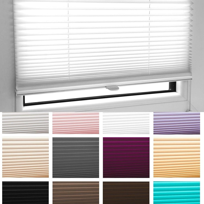 /80/Large/ Store pliss/é pliable Store 60/x 100/cm Noir avec supports de serrage/ /Mega S/élection dans notre boutique/ /12/couleurs