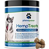 Hemp Treats - Safe Calming Treats for Dogs - Hemp Oil for Pets - Dog Anxiety Relief - Natural Calming Aid - Helps with…