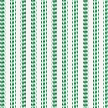 Amazoncom Carousel Designs Green Ticking Stripe Fabric By The Yard