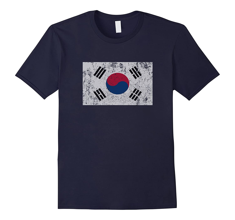 Korean Flag South Korea Taegukgi Taegeukgi Seoul T Shirt-TH