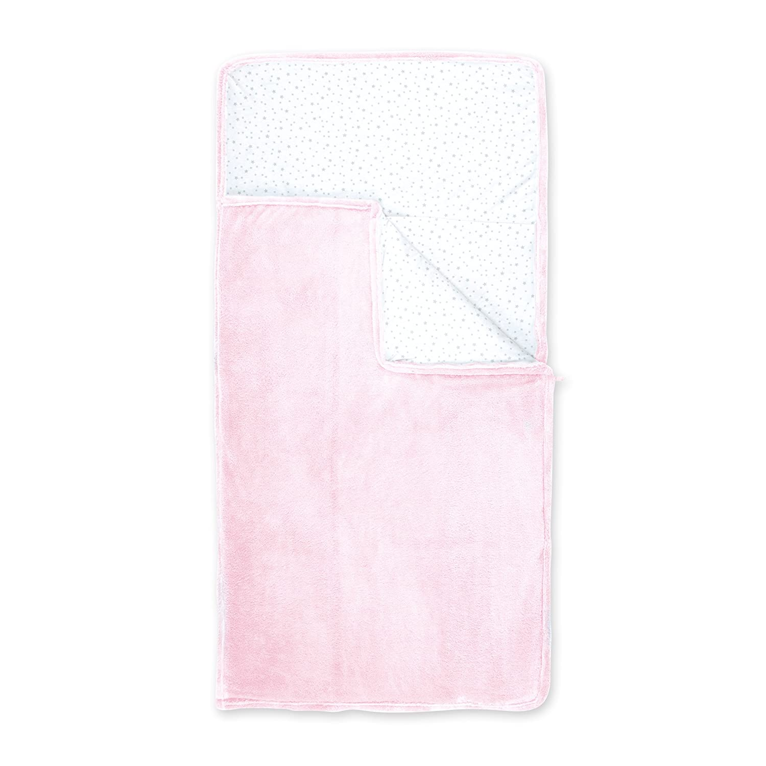Bemini by Baby Boum 135STARY54SF Camping Bag Softy Stary Cristal - 70 x 140 cm - rosa