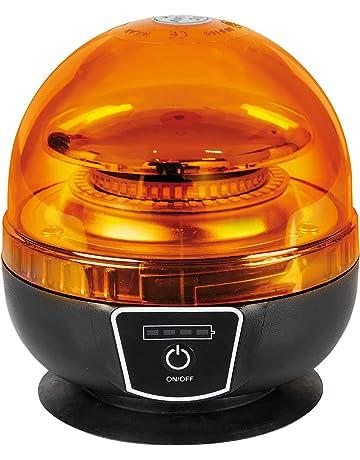 Lámpara RL-11, lámpara de Emergencia con luz giratoria de LED, Recargable,