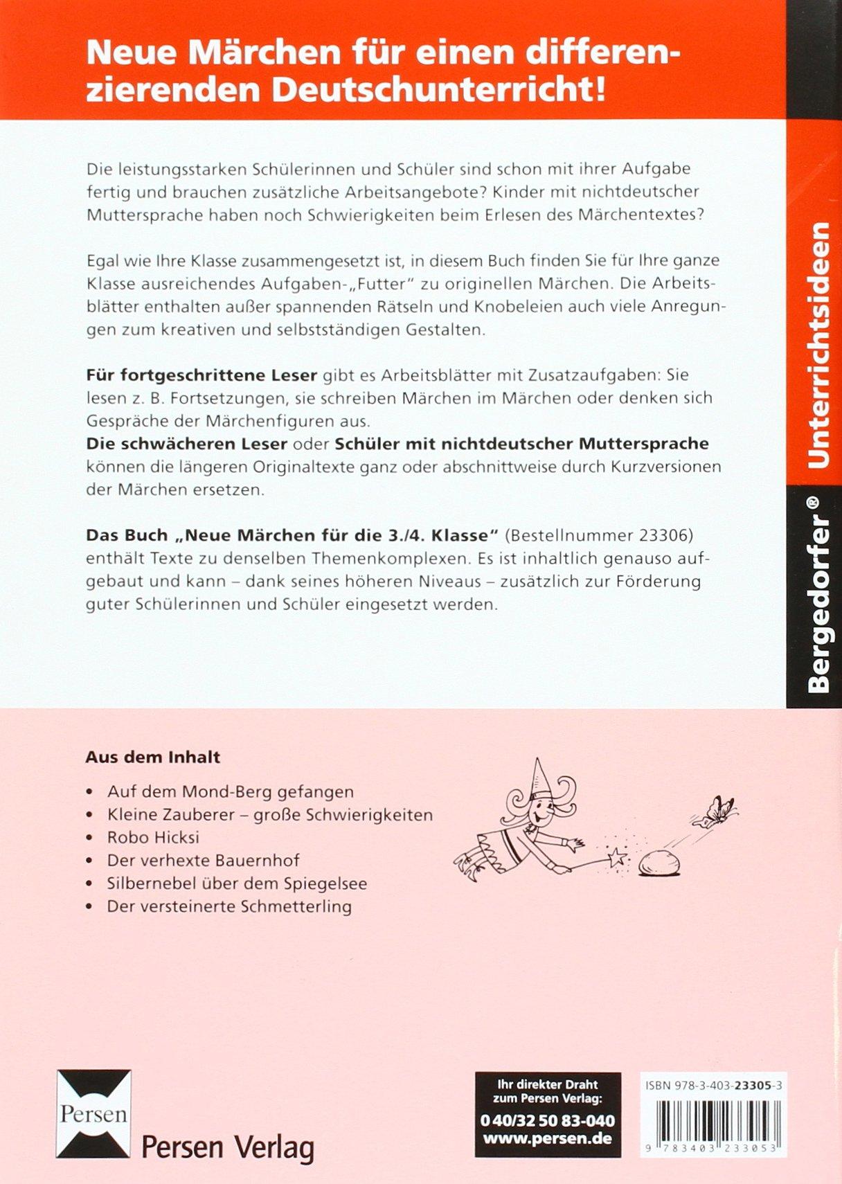 Neue Märchen für die 1./2. Klasse: Differenzierte Texte und Aufgaben ...