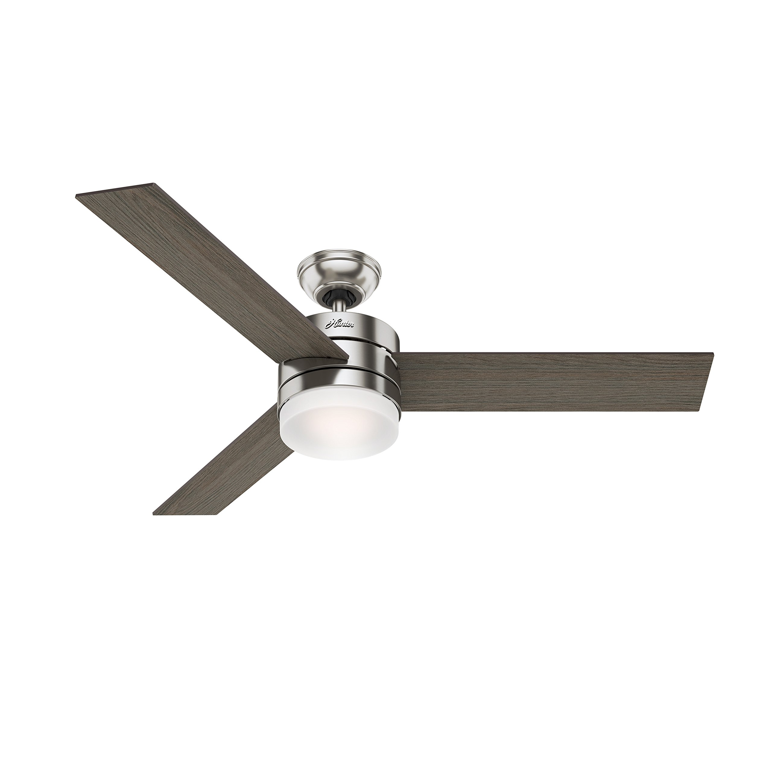 Hunter 54 contemporary ceiling fan with remote control in brushed hunter 54 contemporary ceiling fan with remote control in brushed nickel certified refurbished cc5c91c61 ceiling fans appliances tibs mozeypictures Choice Image
