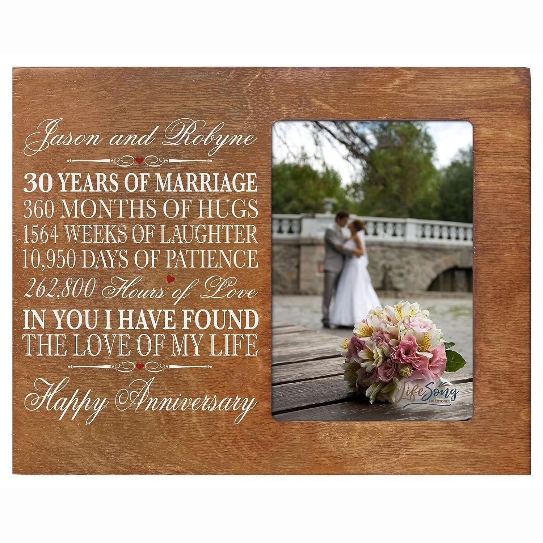 Amazon Com Lifesong Milestones Personalized 30th Year Wedding