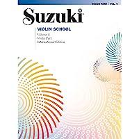 Suzuki Violin School: Violin Part: 04