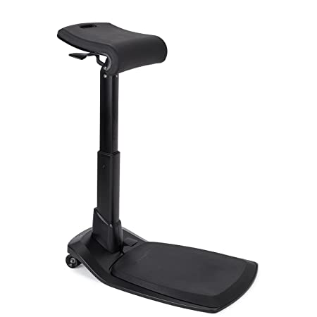 Best Standing Desk Chair for Leaning and Posture LeanRite Elite Ergonomic Back Pain Relief Includes Anti Fatigue mat 30 Day Satisfaction Guarantee