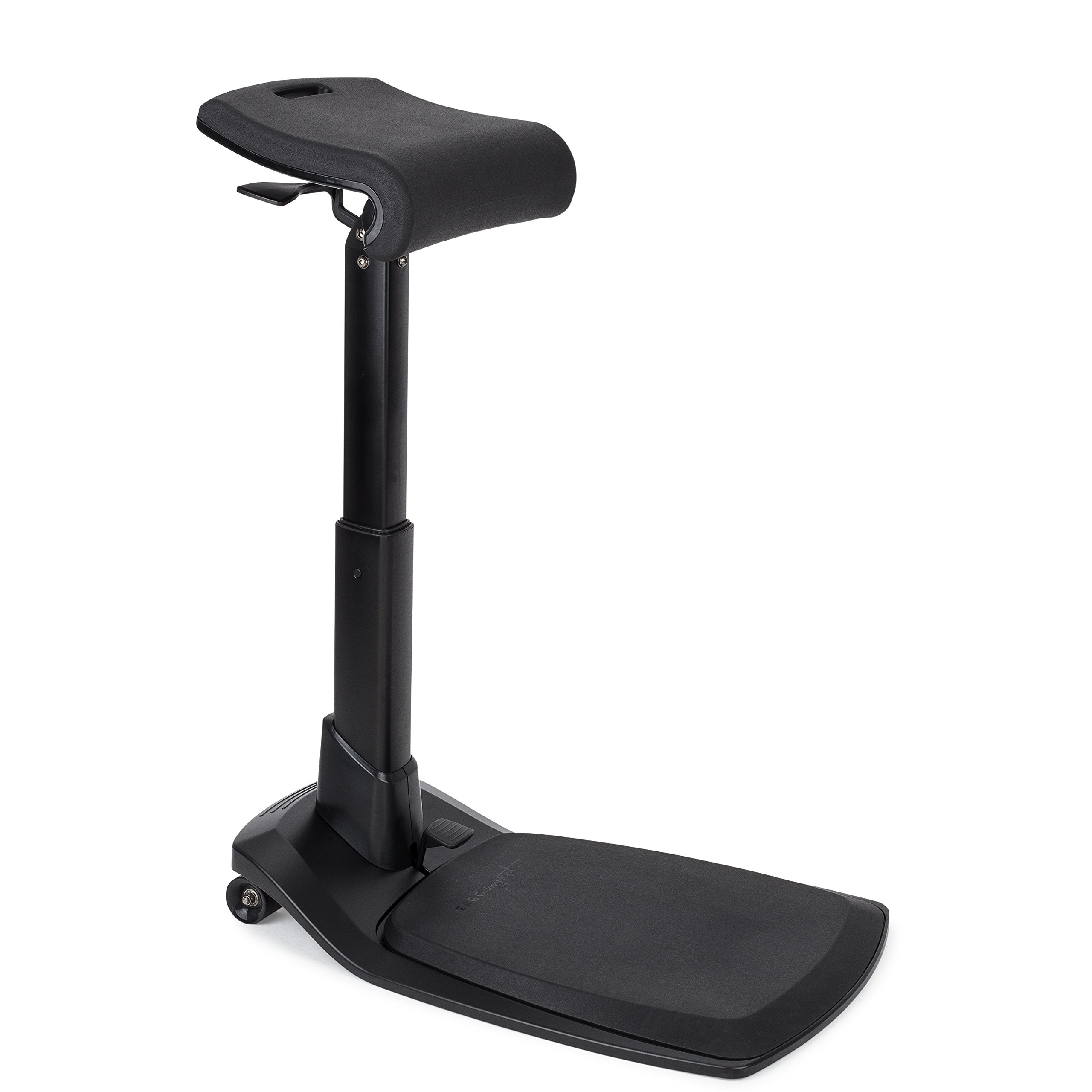 Best Standing Desk Chair for Leaning and Posture LeanRite Elite Ergonomic Back Pain Relief Includes Anti Fatigue mat (30 Day Satisfaction Guarantee)