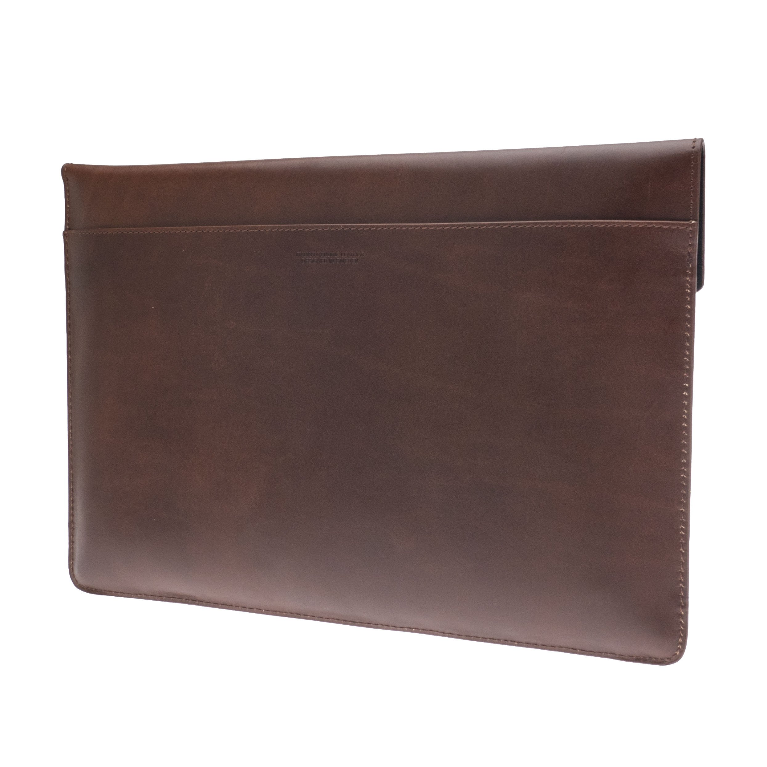 Kasper Maison Italian Leather Laptop Sleeve for 15 Inch Macbook Pro 2016 / 2017 Touch Bar – Designed Envelope Case for similar computer, notebook and ultrabook sizes - Signature Gift Included by Kasper Maison (Image #3)