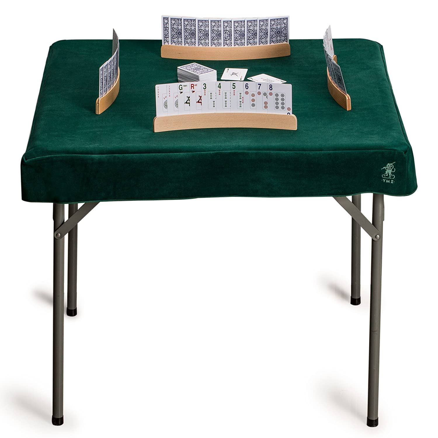 Mahjong Cards Yellow Mountain Imports Table Cover for Poker Board Games and Tile Games Professional Grade