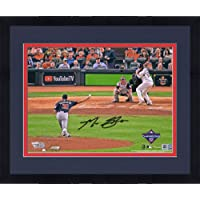 "$343 » Framed Max Scherzer Washington Nationals Autographed 2019 World Series Champions 8"" x 10"" Game 1 Pitching Photograph - Fanatics…"