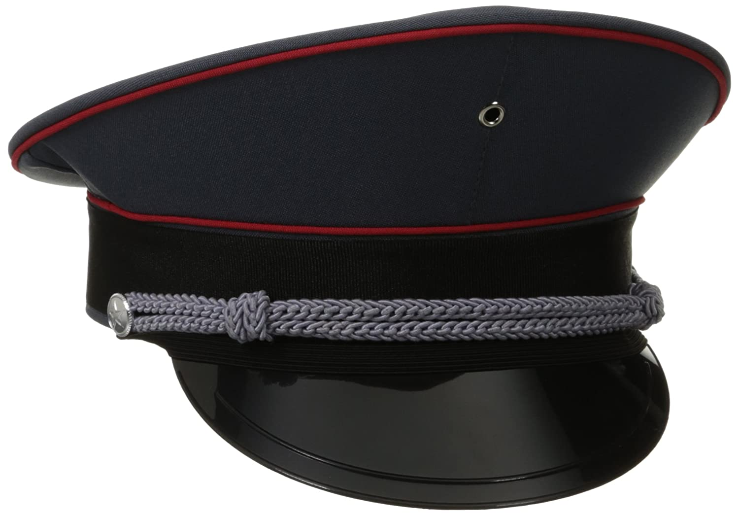 Jacobson Hat Company Men's Adult Deluxe Military Captain Hat