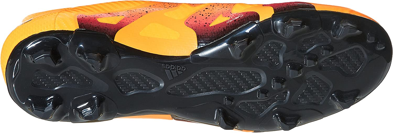 adidas X FG/AG Terrain Souple/Synthétique, Chaussures de Football amricain Homme Multicolore Solar Gold Core Black Shock Pink