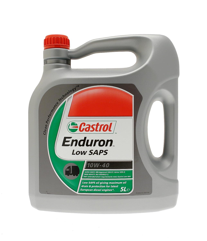Castrol Castrol 24447019 Ednuron Low SAPS 10W-40 Aceite de ...